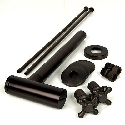 Brass Plumbing Cylindrical Bottle P-Trap Kit Finish: Oil Rubbed Bronze