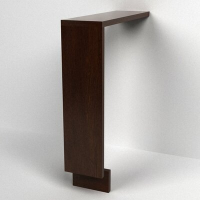 MDV Modular Cabinetry 6 W x 25.5 H Bathroom Shelf Finish: Espresso