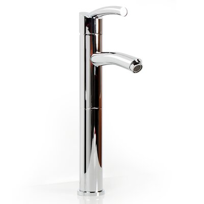Brass Plumbing Single Hole Baccusfaucet with Single Lever Handle Finish: Polished Chrome
