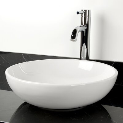 Classic Sphere Circular Vessel Bathroom Sink