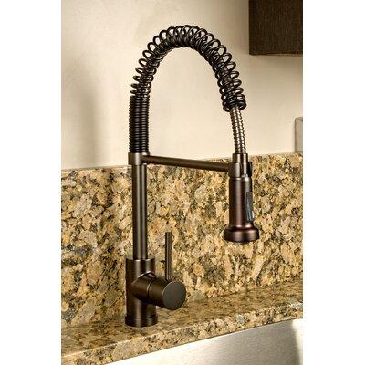 Single Handle Mount Deck Kitchen Faucet Finish: Victorian Bronze