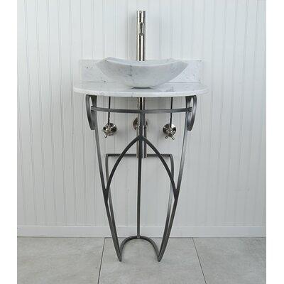 "Victoria Fong 22"" Pedestal Bathroom Sink M2PWWMFOSN"