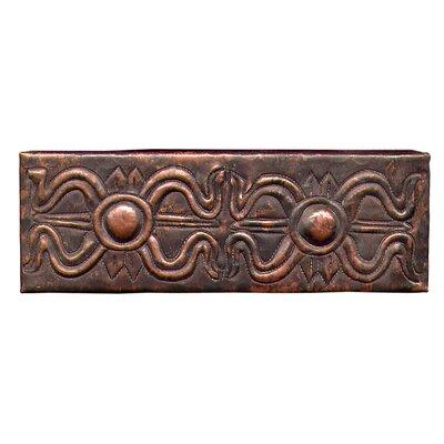 Egyptian Band 6 x 2 Copper Border Tile in Dark Copper