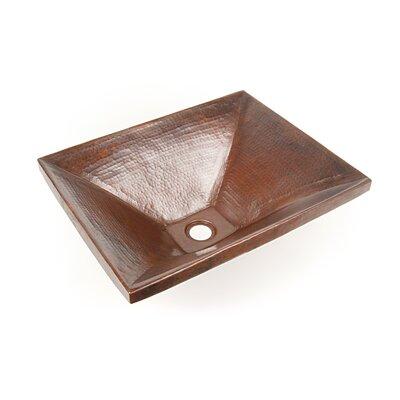 Copper Bathroom Sinks Metal Rectangular Undermount Bathroom Sink