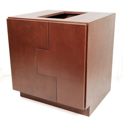 MDV Modular Cabinetry 30 Bathroom Vanity Base Base Finish: Traditional Cherry, Orientation: Left