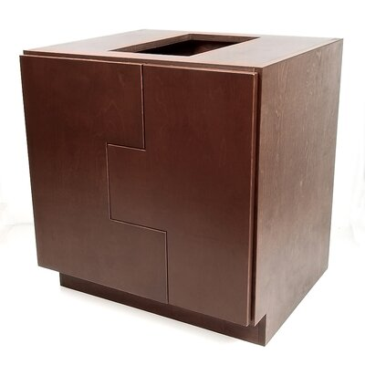 MDV Modular Cabinetry 30 Bathroom Vanity Base Base Finish: Espresso, Orientation: Left