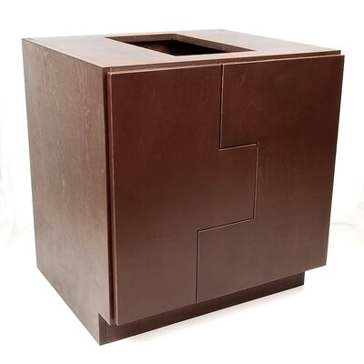 MDV Modular Cabinetry Base Cabinet Finish: Espresso, Orientation: Right Hand