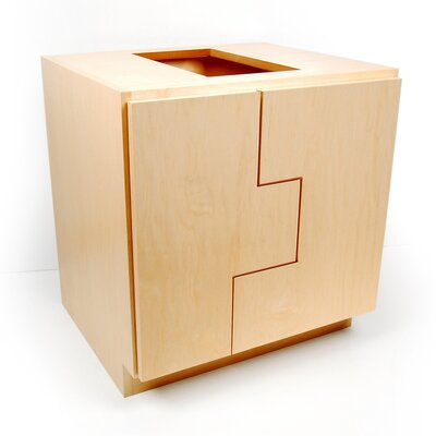 MDV Modular Cabinetry Base Cabinet Finish: Maple, Orientation: Right Hand