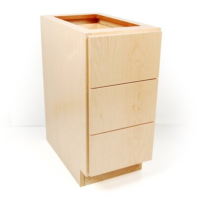 MDV Modular Cabinetry Drawer Base Finish: Maple, Orientation: Right Hand