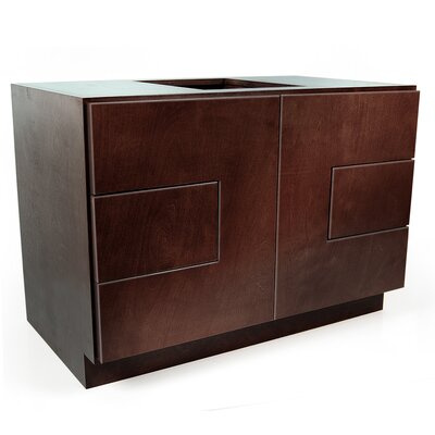MDV Modular Cabinetry 36 Bathroom Vanity Base Base Finish: Espresso