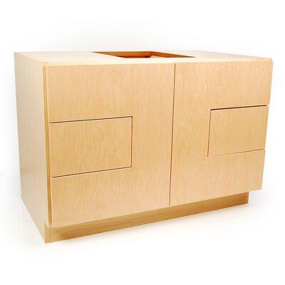 MDV Modular Cabinetry 36 Bathroom Vanity Base Base Finish: Maple
