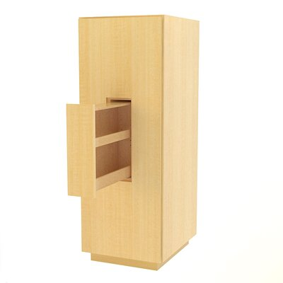 MDV Modular Cabinetry 18 W x 47.18 H Linen Tower Finish: Maple, Orientation: Left Hand