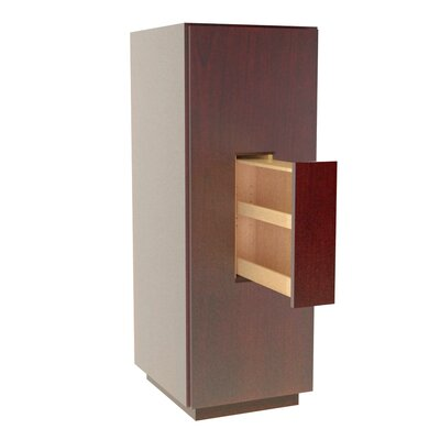 MDV Modular Cabinetry 18 W x 47.18 H Linen Tower Finish: Traditional Cherry, Orientation: Right Hand