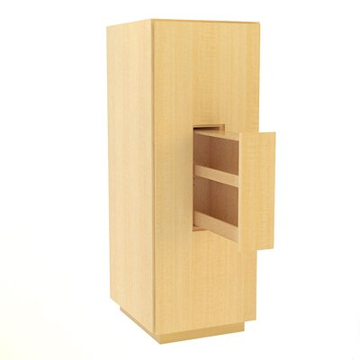 MDV Modular Cabinetry 18 W x 47.18 H Linen Tower Finish: Maple, Orientation: Right Hand