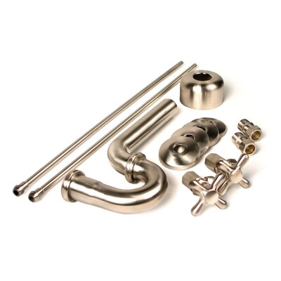 Brass Plumbing Traditional Decorative P-Trap Kit Finish: Polished Chrome