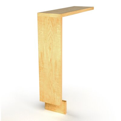 MDV Modular Cabinetry 6 W x 25.5 H Bathroom Shelf Finish: Maple