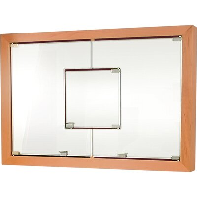 MDV Modular Cabinetry 38.5 x 26.5 Surface Mount Medicine Cabinet Finish: Golden Oak