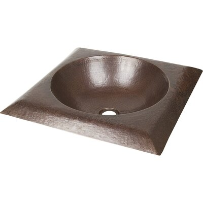 Copper Bathroom Sinks Metal Square Vessel Bathroom Sink