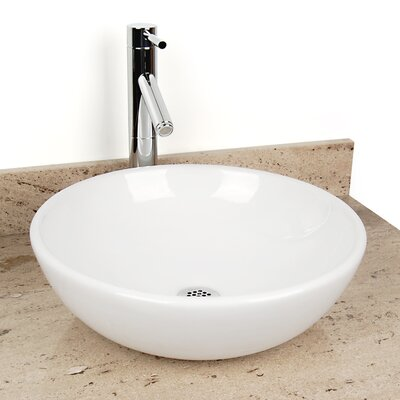 Sphere China Circular Vessel Bathroom Sink