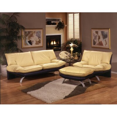 Omnia Leather PRI-LRS Princeton Leather Living Room Set