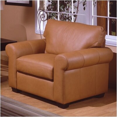 West Point Leather Armchair