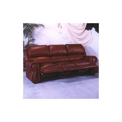 Omnia Furniture Cordova Reclining Sofa Cordova Leather Reclining Sofa