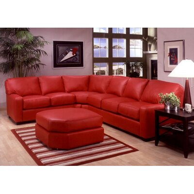 ALB-SEC Omnia Leather Sectionals