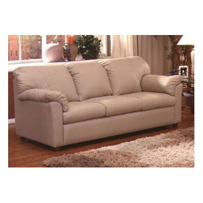 Omnia Furniture Tahoe Full Sleeper Tahoe Leather Sleeper Sofa
