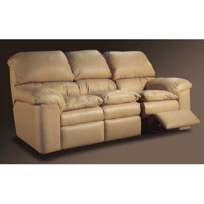 Omnia Furniture CAT-RS Catera Leather Reclining Sofa