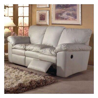 Omnia Furniture ELD-RS El Dorado Leather Reclining Sofa