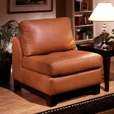 Espasio Leather Slipper Chair
