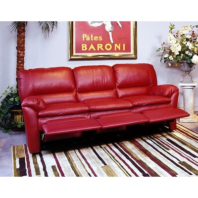 Omnia Furniture Luxor Reclining Sofa Luxor Leather Reclining Sofa