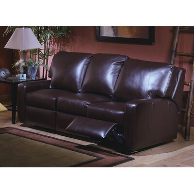 Omnia Furniture Mirage Reclining Sofa Mirage Leather Reclining Sofa