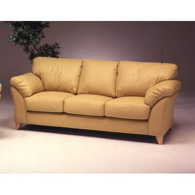 Omnia Furniture Nevada 3 Seat Sofa Nevada Leather Sofa