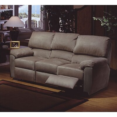 Vercelli Leather Reclining Sofa