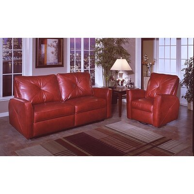 Bahama Leather Living Room Set