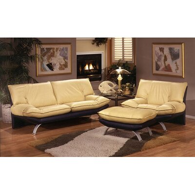 Leather Living Room  on Room Furniture On Omnia Furniture Princeton Leather Living Room Set
