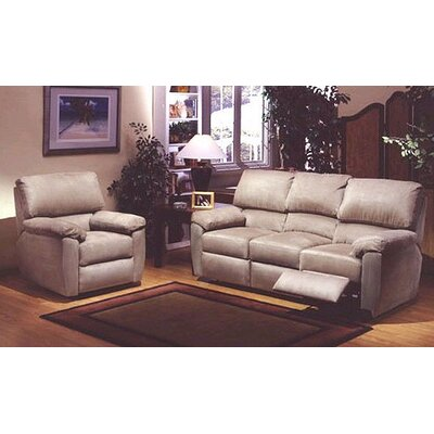 Vercelli Reclining Leather Living Room Set