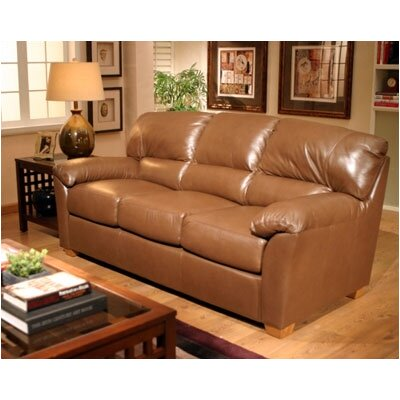 Omnia Furniture CED – 3S Cedar Heights Leather Sofa