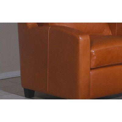 Chelsea Deco Leather Sofa