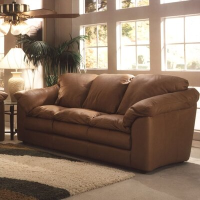 Omnia Furniture Oregon 3 Seat Sofa Oregon Leather Sofa