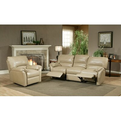 Mandalay Leather Configurable Living Room Set