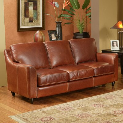 Omnia Furniture GRET-3S Great Texas Leather Sofa
