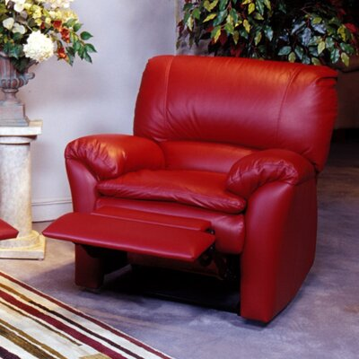 kathy ireland home by omnia luxor leather recliner furniture sofas