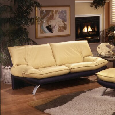 Omnia Furniture PRE-4S Princeton Leather Sofa