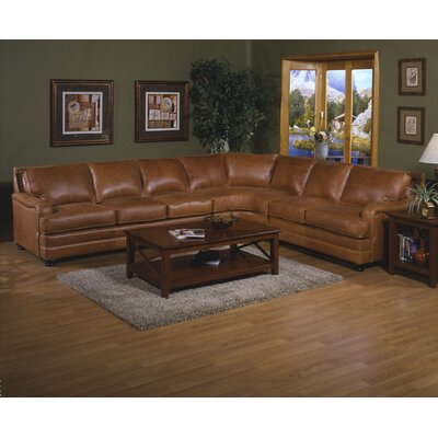 PAN-SEC Omnia Leather Sectionals