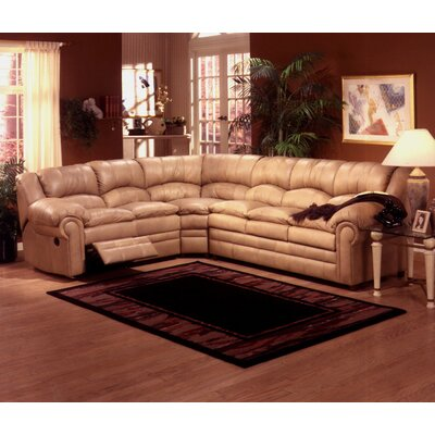 Omnia Leather RIV-SEC Riviera Sleeper Sectional