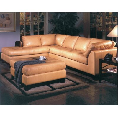 ESP-SEC Omnia Leather Sectionals