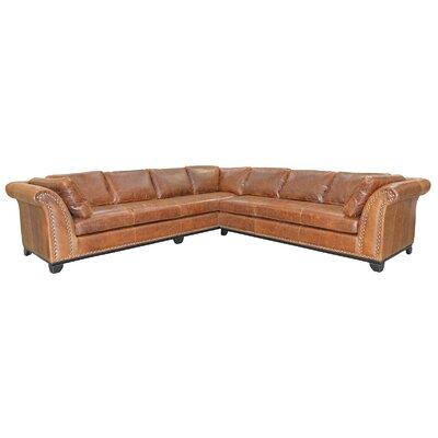 Kingsley 4 Seat Leather Living Room Set