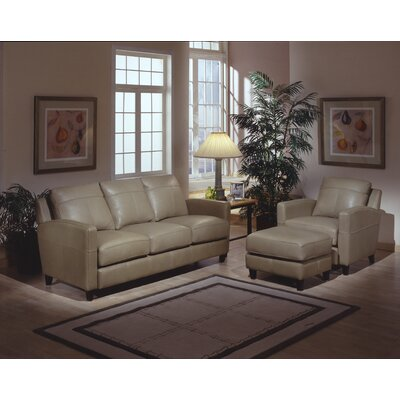 Skyline Leather Configurable Living Room Set